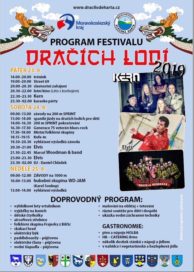 Program festivalu DL - podrobně